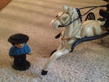 Amish horse and buggy cast iron with figurings in Kingwood, Texas