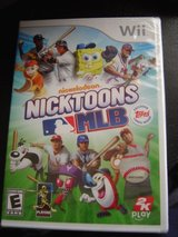 NEW Wii Nicktoons MLB game in Manhattan, Kansas