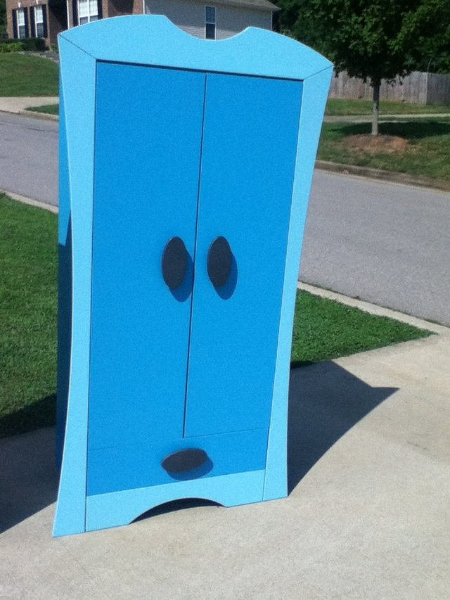 Blue Wardrobe Closet Furniture For Sale On Fort Campbell