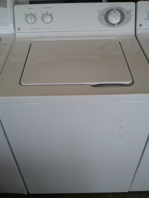 Like New Ge Top Load Washer 26 Cycles 5 Speed Warranty